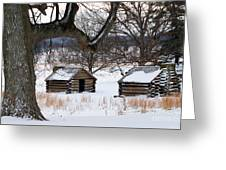 Valley Forge Winter 6 Greeting Card