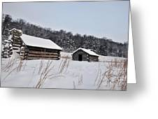 Valley Forge Winter 7 Greeting Card