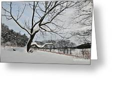 Valley Forge Winter 9 Greeting Card