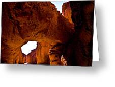 Valley Of Fire Arch Greeting Card