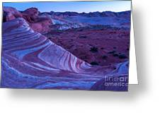 Valley Of Fire - Fire Wave 2 - Nevada Greeting Card