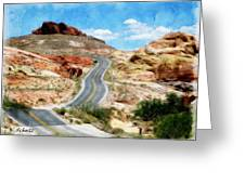 Valley Of Fire State Park Greeting Card