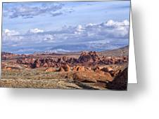 Valley Of Fire Vista Greeting Card