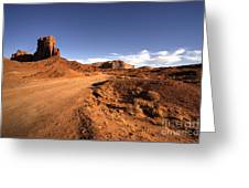 Valley Of Monuments  Greeting Card