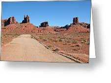 Valley Of The Gods Greeting Card