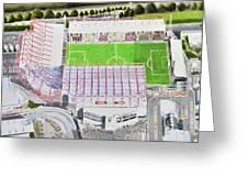 Valley Parade Stadia Art - Bradford City Fc Greeting Card
