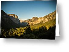 Valley Setting Greeting Card