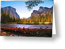 Valley View - Yosemite National Park Greeting Card