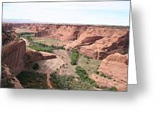 Canyon De Chelly Valley View   Greeting Card