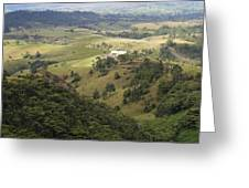 Valley View Of  Atherton Tableland Greeting Card