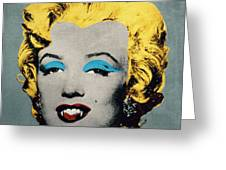 Vampire Marilyn Greeting Card