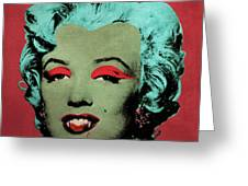 Vampire Marilyn Variant 1 Greeting Card