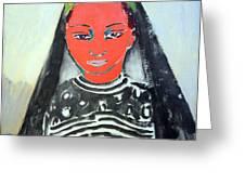 Van Dongen's Saida Greeting Card