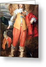 Van Dyck's Henri II De Lorraine Greeting Card