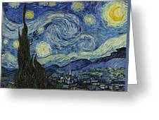 Van Gogh The Starry Night Greeting Card