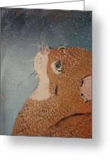Van Goghs Cat Greeting Card