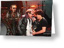 Van Halen-7132b Greeting Card
