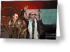 Van Halen-7149 Greeting Card