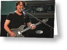 Van Halen-7355b Greeting Card