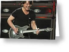 Van Halen-7393b-2 Greeting Card