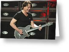 Van Halen-7394b Greeting Card