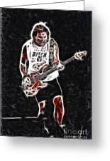 Van Halen-93-mike-gc23-fractal Greeting Card