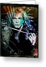 Van Halen - David Lee Roth Greeting Card