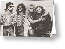 Van Halen Greeting Card