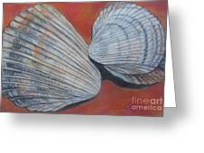 Van Hyning's Cockle Shells Greeting Card