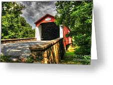 Van Sant Bridge Greeting Card