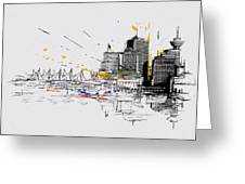Vancouver Art 004 Greeting Card