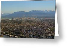 Vancouver At A Glance Greeting Card