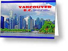 Vancouver Bc Iv Greeting Card