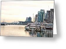Vancouver Boats  Greeting Card