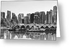 Vancouver Boatsheds Greeting Card