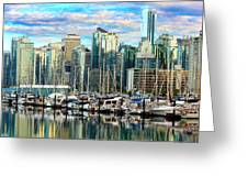 Vancouver City Greeting Card