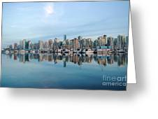 Vancouver Coal Harbour Greeting Card