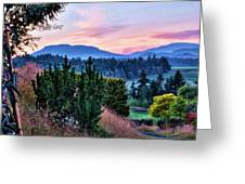 Vancouver Island Evening Greeting Card
