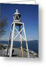 Vancouver Lighthouse Greeting Card