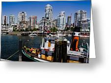 Vancouver Views Greeting Card