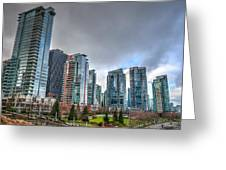 Vancouver Waterfront Greeting Card