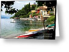 Varenna.lake Como Greeting Card