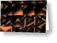 Variations In Brown Greeting Card