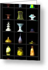 Vases... Greeting Card