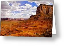 Vast Desert - Monument Valley - Arizona Greeting Card