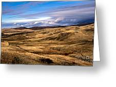 Vast View Of The Rolling Hills Greeting Card by Robert Bales