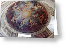Vatican Ceiling Fresco 1 Greeting Card