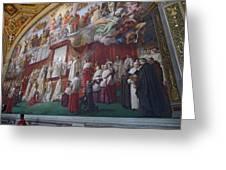 Vatican Fesco 1 Greeting Card