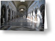 Vatican Museum Greeting Card