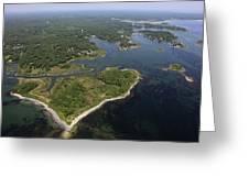 Vaugn Island, Kennebunkport Greeting Card